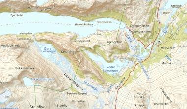 Leirungsdalen_Karte