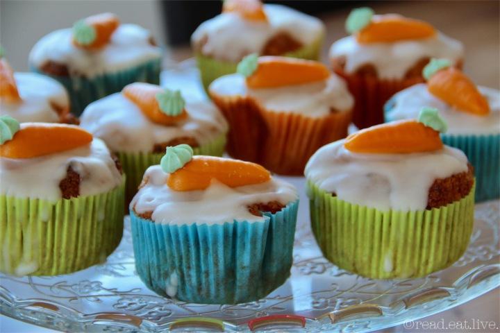 Leckeres   Aargauer Rüebli Muffins – einKlassiker
