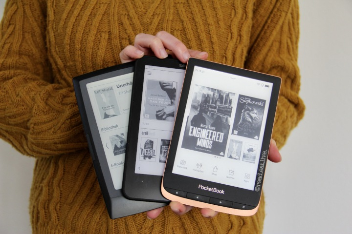 eBook Reader und ich – ein kleiner Erfahrungsbericht